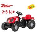 Rolly Toys pedalais minamas vaikiškas traktorius Kid Zetor