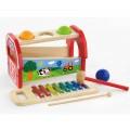 Viga Toys rinkinys - kalami kamuoliukai ir metalofonas