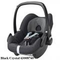 MAXI COSI Pebble 0-13 kg automobilinė kėdutė black crystal