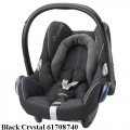 MAXI COSI automobilinė kėdutė 0-13 kg CABRIOFIX black crystal