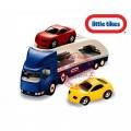 Little tikes didelis žaislinis automobilių tralas + 2 automobiliukai nuotrauka nr.4