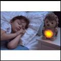 CLOUD-B Stay Asleep Buddies migdukas Šviečiantis Ežiukas su miego kontrole
