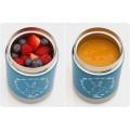 REER 90411 ColourDesign Termosas maistui 350 ml, petrol blue