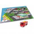 Dickie žaidimų kilimėlis miestas Ponty Pandy + automobilis Jupiter nuotrauka nr.1