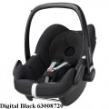 MAXI COSI Pebble 0-13 kg automobilinė kėdutė digital black