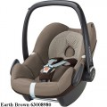MAXI COSI Pebble 0-13 kg automobilinė kėdutė earth brown