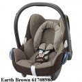 MAXI COSI automobilinė kėdutė 0-13 kg CABRIOFIX earth brown