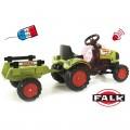 FALK Max Claas Arion vaikiškas traktorius su pedalais