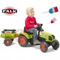 FALK Max Claas Arion vaikiškas traktorius su pedalais nuotrauka nr.3