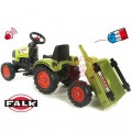FALK Max Claas Arion vaikiškas traktorius su pedalais nuotrauka nr.4