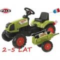 FALK Max Claas Arion vaikiškas traktorius su pedalais nuotrauka nr.6