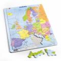 Larsen lietuviška dėlionė (puzzle) Europos politinis Žemėlapis