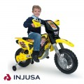 Injusa Cross Drift Thunder Max 12V elektrinis motociklas nuotrauka nr.1