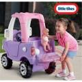 Little Tikes Cozy Truck mašinytė - paspirtukas Princesei, tylūs ratukai nuotrauka nr.2