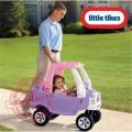 Little Tikes Cozy Truck mašinytė - paspirtukas Princesei, tylūs ratukai nuotrauka nr.4