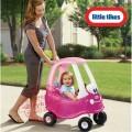Little Tikes Cozy Coupe princesės automobiliukas, rausvas nuotrauka nr.1