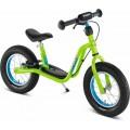 Y balansinis dviratis LR XL su stadžiais, kivi, pripučiamos padangos