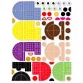 """Magnetic Land magnetukų mozaikos rinkinys  """"Linksmieji draugai"""" 3+"""