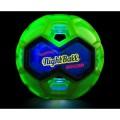 """MEGAFORM fizinio lavinimo priemonė - Šviečiantis futbolo kamuolys """"Tangle Nightball Soccer"""" (M592347)"""