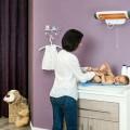 REER infraraudonųjų spindulių šildytuvas kūdikio pervystymui Feelwell