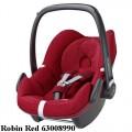 MAXI COSI Pebble 0-13 kg automobilinė kėdutė robin red