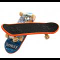 """Plastikinė """"Street"""" pirštų riedlentė (fingerboard) su neslystančiu paviršiumi"""