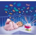 Smoby cotoons naktinė lempa Grybukas su projektoriumi, rožinės spalvos nuotrauka nr.2