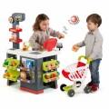Smoby Raudonasis Supermarketas - elektroninė kasa su šviesa, garsais, 42 aksesuarais, vežimėliu nuotrauka nr.10