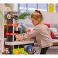 Smoby Raudonasis Supermarketas - elektroninė kasa su šviesa, garsais, 42 aksesuarais, vežimėliu nuotrauka nr.11