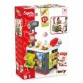 Smoby Raudonasis Supermarketas - elektroninė kasa su šviesa, garsais, 42 aksesuarais, vežimėliu nuotrauka nr.9