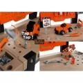 SMOBY Balck Decker Bricolo Center didelis žaislinis darbastalis su 91 aksesuaru ir grąžtu nuotrauka nr.3