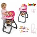 SMOBY lėlės maitinimo kėdutė Baby Nurse