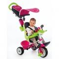 Smoby triratukas Baby Driver, rožinis nuotrauka nr.2
