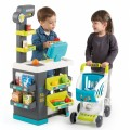 Smoby Market Elektroninis kasos aparatas -žaislinė parduotuvė su šviesomis, garsais ir 34 priedais nuotrauka nr.2