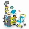 Smoby Market Elektroninis kasos aparatas -žaislinė parduotuvė su šviesomis, garsais ir 34 priedais nuotrauka nr.3