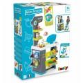 Smoby Market Elektroninis kasos aparatas -žaislinė parduotuvė su šviesomis, garsais ir 34 priedais nuotrauka nr.6