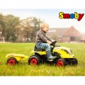SMOBY traktorius su priekaba CLAAS XL nuotrauka nr.2