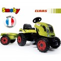 SMOBY traktorius su priekaba CLAAS XL nuotrauka nr.5