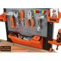 SMOBY Balck Decker Black&Decker Bricolo Utimate didelis žaislinis darbastalis su 95 aksesuarais ir grąžtu nuotrauka nr.1