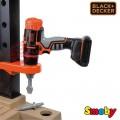 SMOBY Balck Decker Black&Decker Bricolo Utimate didelis žaislinis darbastalis su 95 aksesuarais ir grąžtu nuotrauka nr.3