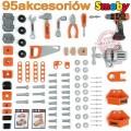SMOBY Balck Decker Black&Decker Bricolo Utimate didelis žaislinis darbastalis su 95 aksesuarais ir grąžtu nuotrauka nr.7