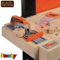 SMOBY Balck Decker Black&Decker Bricolo Utimate didelis žaislinis darbastalis su 95 aksesuarais ir grąžtu nuotrauka nr.8