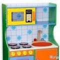 Spalvinga medinė virtuvėlė