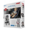 REER TravelKid Breeze orui laidus universalus įdėklas autokėdutei ir vežimėliui