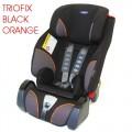 KLIPPAN automobilinė kėdutė 9-36 kg Triofix black orange