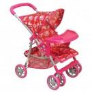 ALEXIS 9304 M11041W vežimėlis lėlėms
