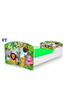 Распродажа: NOBIKO Детская кровать с матрасом Rainbow