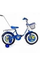 детский велосипед Lordus с толкателям