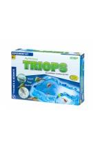 """Thames & Kosmos edukacinė priemonė - biologijos rinkinys """"Mano atradimų Triopsai (skydvėžiai)"""" (510449)"""