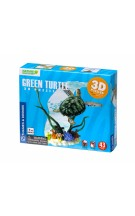 """Thames & Kosmos edukacinė priemonė - erdvinė 3D dėlionė / diorama """"Jūrų vėžlys"""" (268140)"""